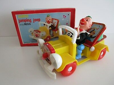COMIC JUMPING JEEP  70er Jahre OVP