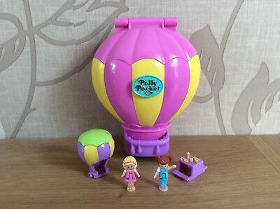 Vintage Polly Pocket 1997 Up Up And Away 100% Complete