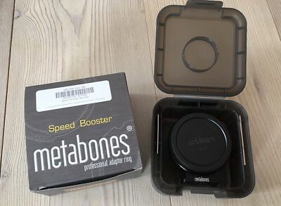 Metabones Canon EF to Micro Four Thirds, MFT, M43, 4/3 Speed Booster 'S' Version
