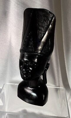 Vintage quality African carving,Mahogony,Excellent Condition.