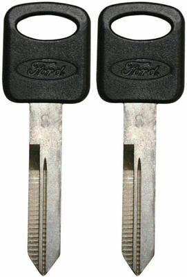 2 New Ford Oem Oval Logo Uncut Master Key Blank - Fast Shipping - Made In Usa