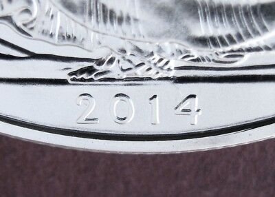 2014 Doubled Date American Silver Eagle Dollar Error $1 Bullion Collectable Lots