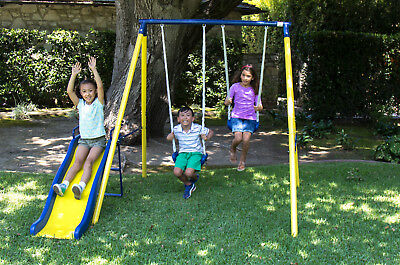 BRAND NEW Sportspower Power Play Time Metal Swing Set - Free Shipping