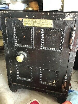 Antique Silas Herring Safe Mid to Late 19th Century