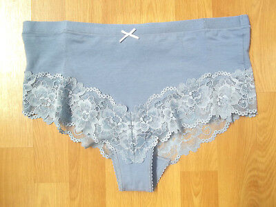 EX M/&S Bandeau Lace Low Rise Thong Knickers Briefs Assorted Colours 8-22