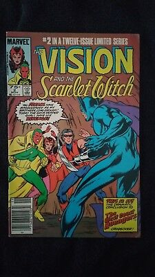 The Vision and The Scarlet Witch #2 (Marvel, 1985) – W.C. Avengers X-over Comic