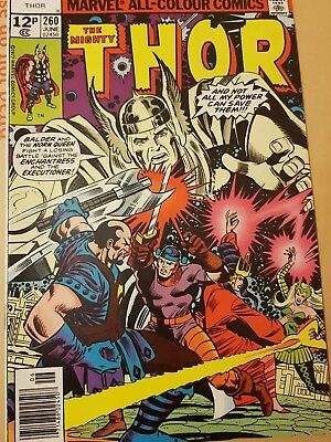 The Mighty Thor  # 260 Marvel Comics June 1977