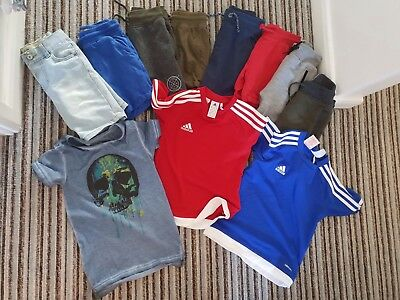 Boys Summer Bundle 4-5 Years Including Next and Adidas
