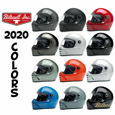 2019 Biltwell Lane Splitter Helmet DOT ECE - All Colors Sizes IN-STOCK TO SHIP