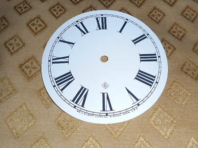 For American Clocks- Round Gilbert Paper Clock Dial-125mm M/T-Roman-Clock parts