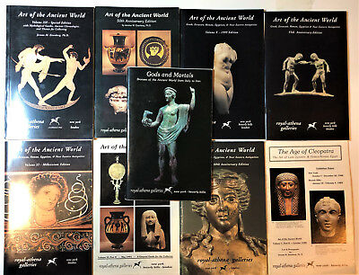 Ancient Art Antiquities. Royal Athena Galleries Greek Roman 9 catalogs Reference