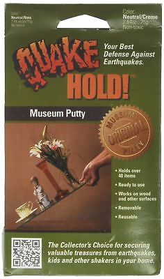 Quake Hold 88111 2.64 Oz Quake Hold™ Museum Putty