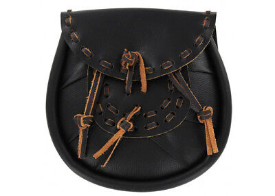 Highland Scots Leather Traditional Sporran