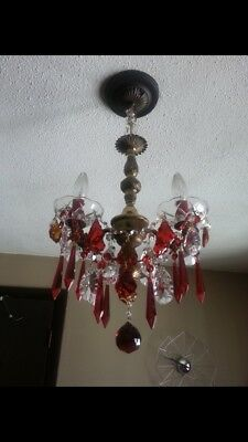 Antique Unique Customized Real Crystal Chandelier