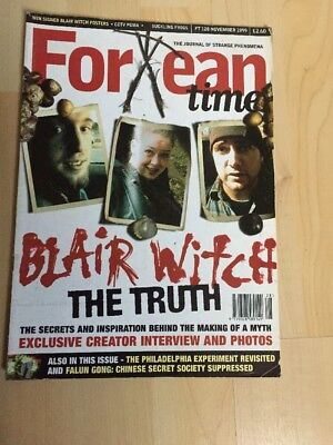 Fortean Times FT 128 November 1999 Blair Witch- The Truth
