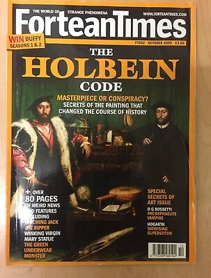 Fortean Times FT202 October 2005 The Holbein Code