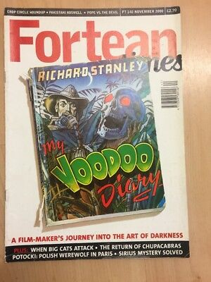 Fortean Times FT140 November 2000 Richard Stanley, My Voodoo Diary