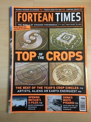 Fortean Times FT 164 Nov 2002 Top of the Crops - crop circle, China's  pyramid