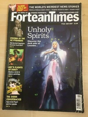 Fortean Times FT 222 May 2007 Unholy Spirits- discover the dark side of Lourdes