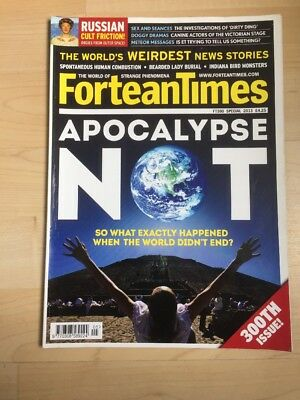 Fortean Times FT 300 Special 2013 Apocalypse Not- 300th Issue