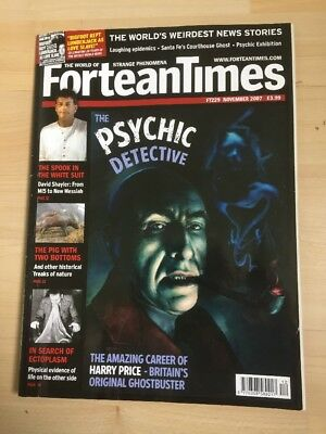Fortean Times FT229 November 2007 The Psychic Detective