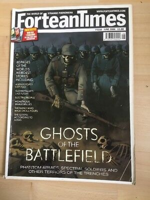 Fortean Times FT 210 June 2006 Ghosts of the Battlefield