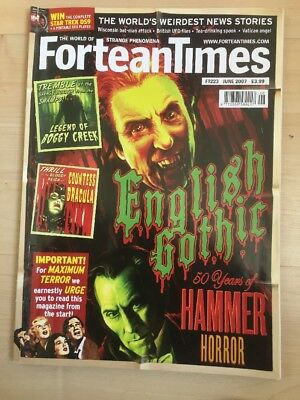 Fortean Times FT 223 June 2007 English Gothic
