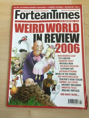Fortean Times FT 219 February 2007 Weird World in Review 2006