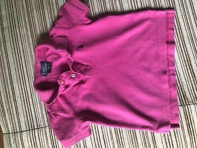 Ralph Laureh polo size 2T. Good condition.