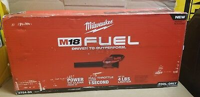 Milwaukee 2724-20 New M18 18V FUEL Blower (Tool Only) - New In open Box see pict