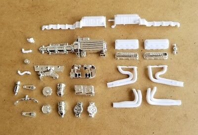 Revell 1/25 1957 CHEVY PRO SPORTSMAN ENGINE AND RELATED PARTS! MODIFIED MOD TOP