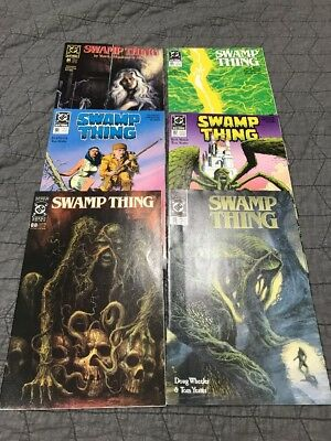 Swamp Thing Lot Of 6 DC Comics 1989 #'s 84-89 Beautiful Condition