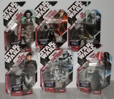 HASBRO Star Wars 30th Anniversary Collection TAC  Konvulut 6St. Force Unleashed