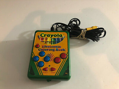 CRAYOLA ELECTRONIC COLORING Book Plug & Play TV Video Game Toy ...