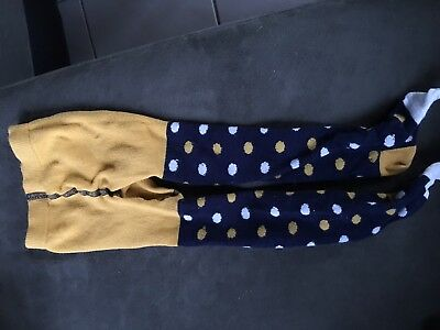 Hanna Andersson, girls tights size 80/90 (2T)  EUC