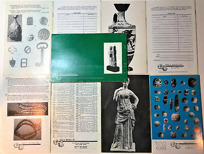 Ancient Art Antiquities. Holy Land Asiatiic Greek Roman Set 9 catalogs Reference