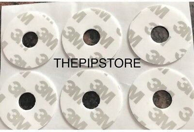 6 Rare HTF Double Sided Sticky Pad For Popsocket Hole In Center Version