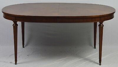KINDEL Beauclair Country French Provincial Fruitwood Dining Table with 3 leaves