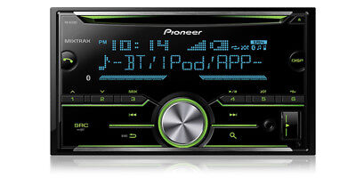 Pioneer Fh-X731Bt 2-Din Cd Mp3 Usb Stereo Bluetooth Ipod Car Stereo - Fh-X730Bs