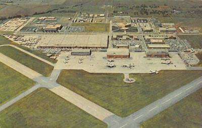OK, Oklahoma City FEDERAL AVIATION ADMIN AERONAUTICAL CENTER FAA~Aerial Postcard