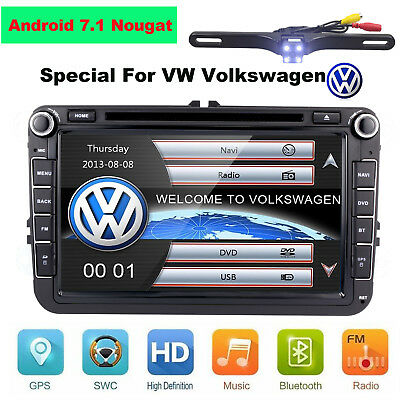 """8"""" Android Car DVD Player Radio Stereo GPS Navi Unit for VW Golf MK5 Passat Eco"""