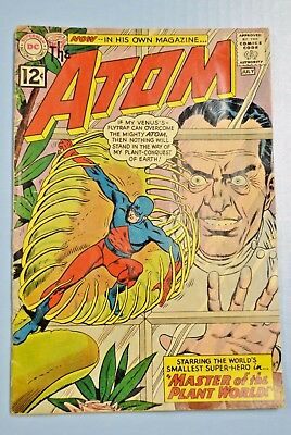 The Atom #1, D.C. Comics Key Issue Very Good Condition, Pages Fine July 1962