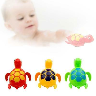 Baby Bath Pool Swimming Turtle Animal Toy Wind-up For Kids Water Toys NEW