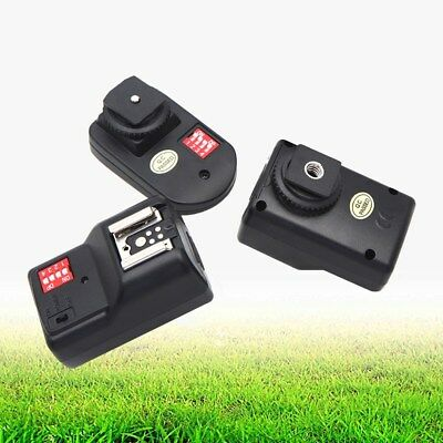 16 Channel Wireless Flash Trigger with 2 Receivers for Canon Nikon Pentax Sigma