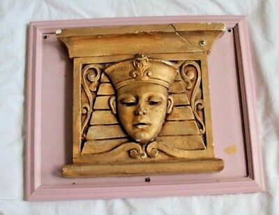 1927 Art Deco The Egyptian Theater Milwaukee WI Movie Theater Cinema Wall Plaque