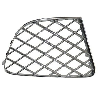 Bentley Continental Gt Gtc Right Bumper Chrome Grill 12 -15