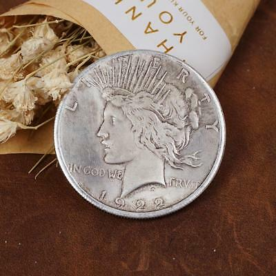 1922 Double Sided Commemorative Vintage Silver Coin!~