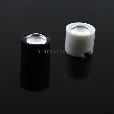 50pcs 14.5mm 10° 10 Degree LED LENS Reflector Collimator for 1W 3W 5W Star LED