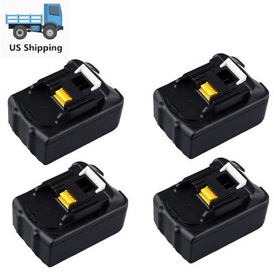 4 X 18 Volt 3.0 Ah 18V Lithium-Ion Battery For Makita BL1815 BL1830 LXT Compact