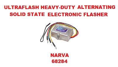 Ultraflash Heavy-duty Alternating Solid State Electronic Flasher  NARVA 68284